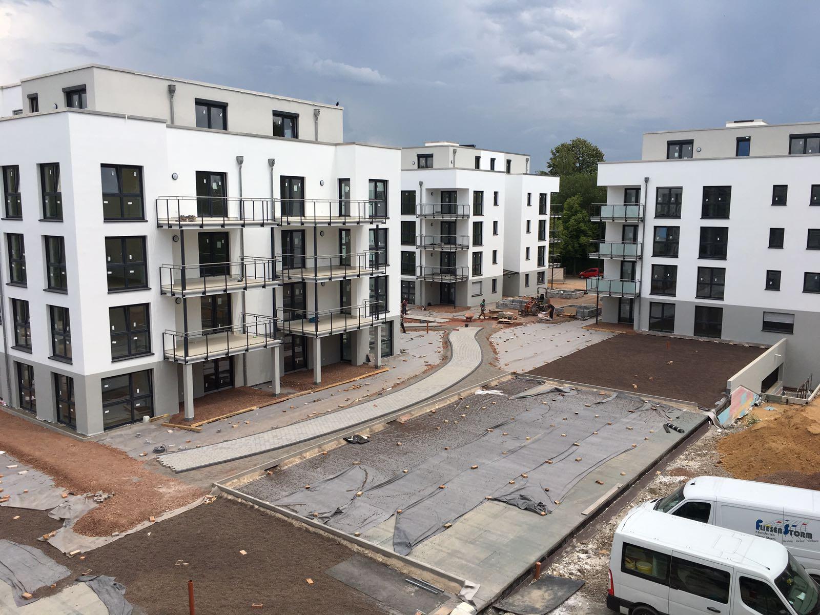 Schlüsselfertiger Neubau der Wohnanlage Knappenroth Saarbrücken
